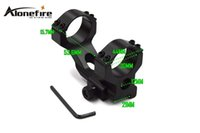 AloneFire Y0013 Hunting Tactical Heavy Duty 30mm Cantilever Scope Mount Picatinny / Weaver Rail 21mm pour Rifle (1PC)