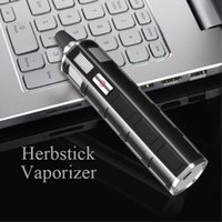 Vaporizador hierba herbosa Herbal Vape 6 LED temperatura variable 2300 mah Herbstick Vaporizador Plumas ecigarettes kit