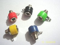 Wholesale 4mm test socket for sale - Group buy 1000pcs Banana Socket MM Jack To banana plug Test equipment