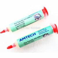 Wholesale Amtech Flux Clean - 2 pcs lot No Clean Original Amtech NC-559-ASM-UV(TPF) 10CC Solder Flux Solder Paste Water-Washable Free shipping order<$18no track