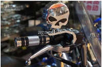 Wholesale Motorcycle rearview mirror motorcycle modification skull mirror gift