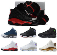 regalos chicago al por mayor-Niños 13 13s Zapatillas de Baloncesto Niños Niño Niña 13 s Criado Chicago Flint Pink Sports Sneakers Niños Regalo de Cumpleaños de Navidad