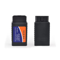 Wholesale Bmw Iphone Interface - Wi-Fi ELM 327 ELM327 OBD2 OBDII Protocols Auto Car Diagnostic Tool Interface OBD Scanner Support Iphone Ipad Android Windows