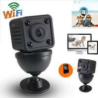 Wifi IP Mini Camera Wireless 1080P HD Infrared Micro IR Night Vision Body Magnetic Mini DV Frete Grátis