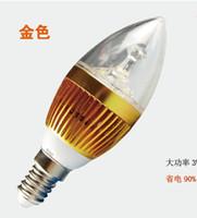 Wholesale Candelabra Bulbs Free Shipping - 9w LED Candle Light E14 E27 AC85-265V Candelabra Bulbs Tubes Warm Cool White led lamps for home Free Shipping