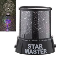 Wholesale Star Night Sky Lamp Sale - Hot Sale ! New Sky Star Projector Night Light Change Color Romatic Gift Cosmos Star Master LED Starry Light Lamp