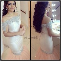 Reference Images oriental evening dresses - Robes Oriental Dubai Myriam Fares Mermaid Evening Dress Sexy Off the Shoulder Crystal Arabic Prom Dresses Vestidos de Festa