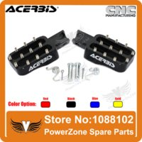 Wholesale Foot Pegs Dirt Bike - ACERBIS Billet CNC Foot Pegs Pedals Foot Rests Fit KAYO IRBIS CRF KLX Pit Pro BSE BAJA Dirt Bike Motorcycle Free Shipping