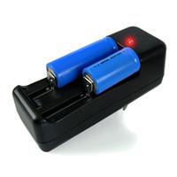 ingrosso la migliore e nuova sigaretta-Nuove batterie compatibili con caricabatterie E Cig 18650/18350 Caricabatterie con lunga durata e caricabatterie Migliori caricabatterie E Cig E-cha1
