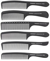 Wholesale comb hair carbon for sale - Group buy Toni Guy Classic Carbon Anti Static Black Hand Combs Professional Salon Hair Cutting Brushes
