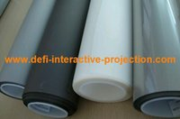 Wholesale High Contrast Screen - Wholesale-White film 1.524M*4M ,High contrast definition holographic film,rear projection screen film