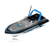 Wholesale Motors Speed Control - New Blue Radio RC Remote Control Super Mini Speed Boat Dual Motor Kids Toy Free shipping & wholesale
