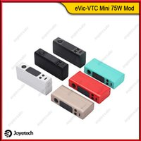 Wholesale Evic Original - Original Joyetech eVic-VTC Mini 75W VW TC Mod eVic VTC Mini Temperature Control Ecigarette Mods With OLED Screen