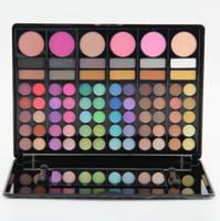 Wholesale 78 Color Professional Eyeshadow Palette - Professional 78 Colors Eyeshadow Eye Shadow Palette Cosmetic Makeup Kit Set Make Up Professional Makeup Kit, 78 Color