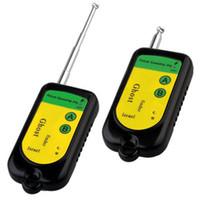 Wholesale Gsm Door Camera - New Signal Bug RF Detector Camera GSM Wireless Device 100~2400Mhz BLK