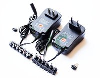 Wholesale Ac Power Adapter 3v - 600mA AC DC Universal Mains Plug Power Supply Charger Adapter Adaptor 3v-12v