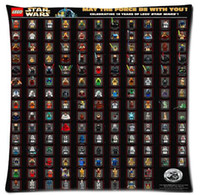 Trasporto libero Formato 45x45 cm federa Star Wars Neo Custom Home Decorazione Camera Setting Gettare federe