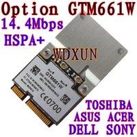 Wholesale Pci Card Size - Wholesale- 3G module OPTION GTM661 14.4M WCDMA HSUPA PCI-E half size 3G network card 661 gtm661 wwan