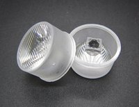 Streak Waterproof Led Lens 20.9MM 8 * 45 graus para Cree / Epileds 3535 3030 1W 3W 5W Led Chip Luz DIY 250pcs / lot