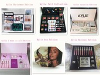Wholesale Gift Boxes Birthday - Newest vacation edition bundle Kylie Christmas Collection Set Naughty & Nice Holiday Big Box I WANT IT ALL The Birthday Collection Gift