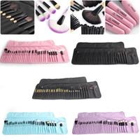 bolsa de cepillo kabuki al por mayor-VANDER Soft Makeup Brushes Set 32 PCS Multi-Color Maquillage Beauty Brushes Mejor regalo Kabuki Pinceaux Set de cepillo + bolsa
