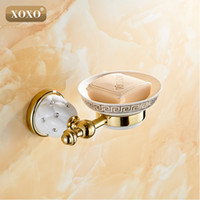 Wholesale furniture products - Xoxonew Golden Finish Brass Soap Basket  Soap Dish  Soap Holder  Bathroom Products ,Bathroom Furniture Toilet Vanity 10085gt