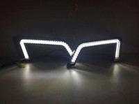 Wholesale Daytime For Cruze - Car-styling White DRL Chevrolet Cruze LED Car Light LED DRL Driving Daytime Running Fog Lamp Light for Chevrolet Cruze 2015