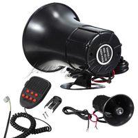 Wholesale Tone Horns Motorcycle - Hot Sale 12V 100W 150db Tone Wehicle Boat Car Motor Motorcycle Van Truck Siren Loud Horn Auto Speaker Alarm order<$18no track