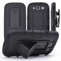 Wholesale Iphone Swivel Cases - Hybrid Armor Hard Case for iPhone 6 6s plus Belt Clip Holster With Kickstand Swivel Holder Rugged Phone Cover for samsung galaxy S6 Note 5 4