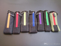 e çanta çantası çantası toptan satış-Taşıma çantası çanta E Çiğ Yakaladığında kılıfı Renkli Bez Kutusu Kasa Cep Kanca ile Fermuar Kolye İpi Tutucu için ego evod x6 Mod