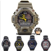 Wholesale Color Led Watches Display - 5 Color Outdoor Skmei 1029 S-Shock Digital Watch Military Sport Watch Men Fashion Waterproof Watch Tactical Wristwatch Free Ship
