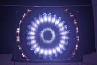 Wholesale Usa Uk Pc - 2017 new Free shipping P3 1x2m pc led vision curtain 2048 leds led video curtain RGB for stage backdrop decoration wedding