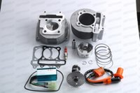 Chinese Scooter 150cc Big Bore 63mm GY6 Cylinder Kit A11 Cam, Racing CDI Coil 8-874