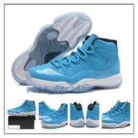 Wholesale Lace Up Rivet Women Boots - Retro 11 Carolina Pantone Basketball Shoes Flight Pack Men Sports Shoe Women Trainers Cheap Athletics Boots Retro 11s XI Bred NC Sneakers