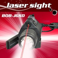 Wholesale Tactical Red Laser Torch - Tactical M4 M6 Pistol Gun glock mount Red Dot Laser Sight Aluminum Laser Sight Scope with LED flashlight torch combo