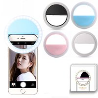 Factory Direct Ship Charging LED Flash Beauty Fill Selfie Lamp Lighting Camera Photography Rechargeable Ring Light For Smart Mobile Phones