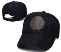 Wholesale designer Black buckle hat women Mens Flat Caps Snap Backs good quality Hats