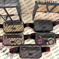 293new!Men's waist bags chest bag leather soft perfect craftsmanship a variety of styles to choose from