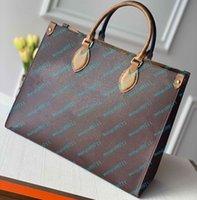 Purse Wallet Womens Handbag Flower Ladies Casual Tote PU Leather Fashion Shoulder Bags Female 41cm Big Szie Handbags Purses