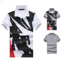 Discount hip hop dress t shirt Hip Hop Crop Top Male T Shirts Men's Designers Mens Polo T Shirt Classic Camisas De Hombre White T-Shirt Summer Dress Collared Ropa De Hombre Fashion Black 2021 NV562