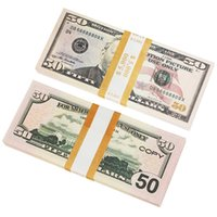 Movie prop banknote Party Games 10 dollars toy currency fake money children gift 1 20 50 Euro dollar ticket