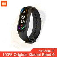 Xiaomi Mi Band 6 Smart Armband AMOLED Blut Sauerstoff Fitness Traker Herz Rate Bluetooth Wasserdichte Smart Mi Band6 Smart Uhr 6