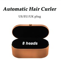 8 Heads Multi-function Hair Styling Device Dryer Automatic Curling Iron Gift Box For Rough and Normal Irons