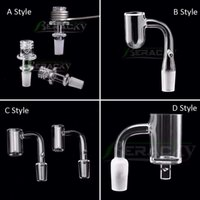 Beracky 4 Styles Smoking Quartz Enail Banger 20mm 24mm 25mmOD Female Male E Nails For Coil Heater Glass Water Bongs Dab Rigs Pipes