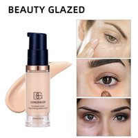 6ML Matte Hydrating Face Liquid Foundation Long-lasting Whitening and Concealer Primer Cream Makeup Cosmetic