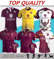 2021 2022 National Rugby League Queensland QLD Maroons Malou Rugby jersey 20 21 22 QLD MAROONS STATE OF ORIGIN Rugby jersey