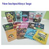 54 styles backpack boyz 3.5g mylar bags 7g baggies GARISON GLUE Jin city with Backpackboyz stickers runtz plastic bags