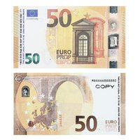 Ruvince Brand Wholesale Nightclub Bar High Quality Pretend Euro 5 10 20 50 , Props Copy Fake Notes Play Money Faux Billet 100 pcs pack