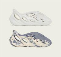 2021 Originals Slide Slippers Foam Runner Shoes Sand MXT Moon Gray Ararat Kanye West Resin Desert Earth Brown Bone Sandals Men Women Outdoor Sneakers Size US4-13