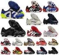 Men Predator ABSOLUTE 20 Accelerator Eternal Class 20+ soccer shoes Mutator Mania Tormentor Electricity Precision 20+x FG Beckham Zidane cleats football boots